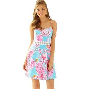 Lily Pulitzer LENORE LACE CUT-OUT SUNDRESS